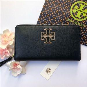 Tory Burch Britten Zip Continental Wallet